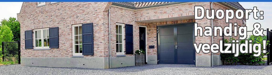 Super Openslaande garagedeuren (Duoport) | Novoferm @YS76